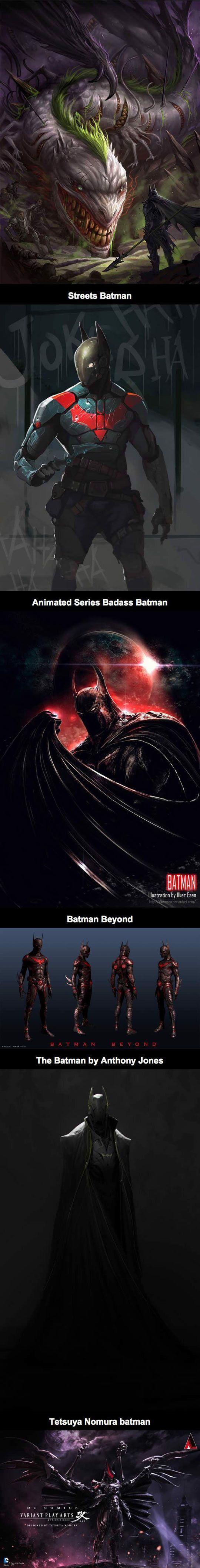 Awesome Alternate Fan Art Takes On Batman - The Meta Picture:
