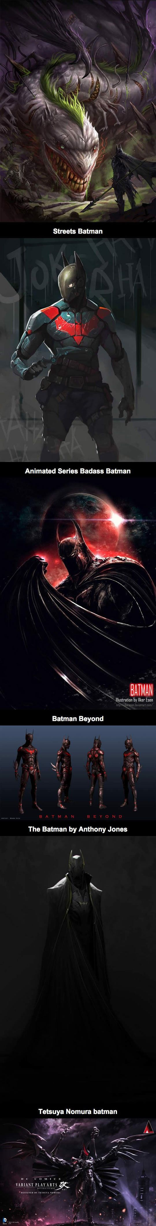 Awesome Alternate Fan Art Takes On Batman - The Meta Picture: