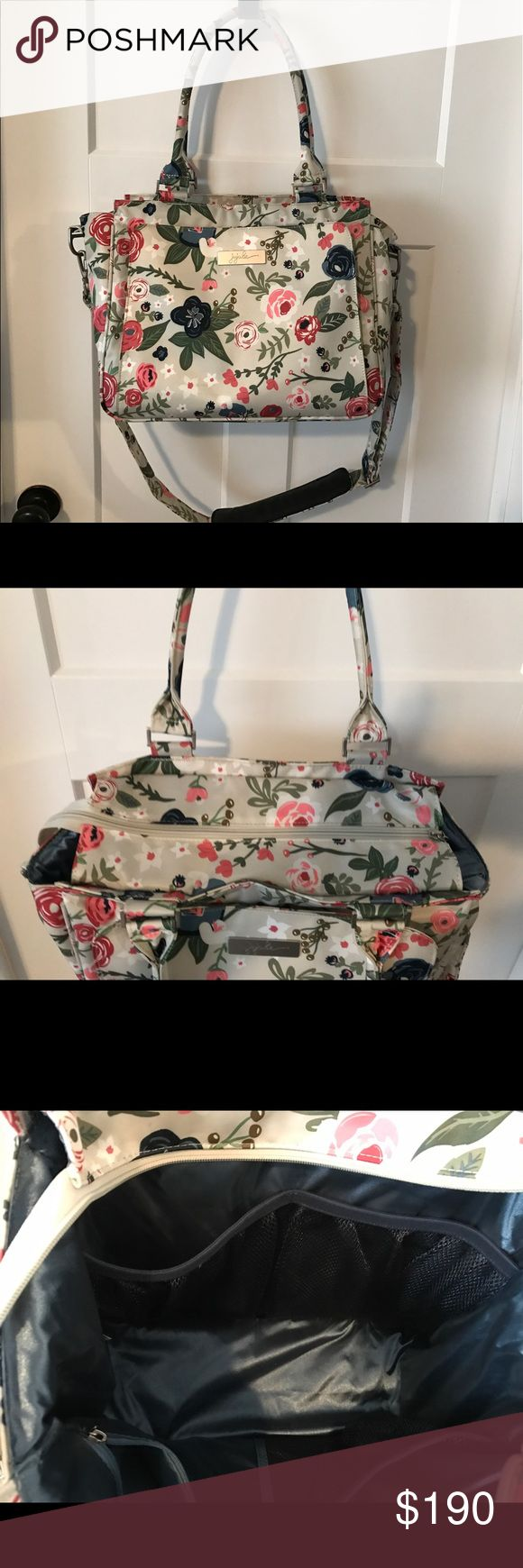 Ju-Ju-Be Be Classy Diaper Bag- Rosy Posy Like new condition. Ju-Ju-Be Other