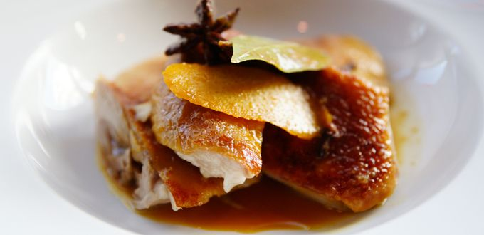 Whole Roast Peking Duck with Orange and Cinnamon
