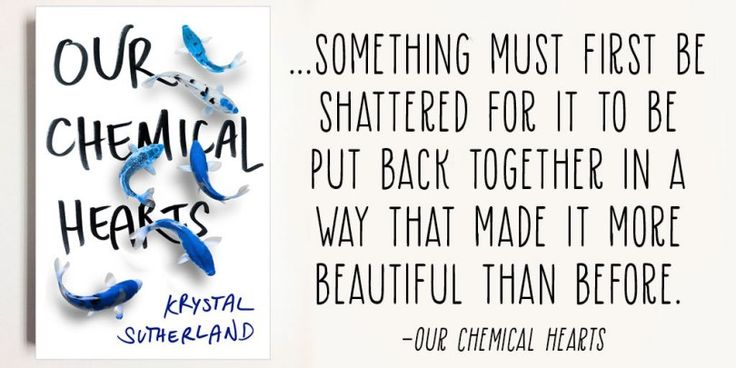 Image result for chemical hearts book