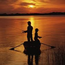 Father and son fishing ... at Bear Tales http://beartales.me/2014/07/05/father-and-son-fishing/
