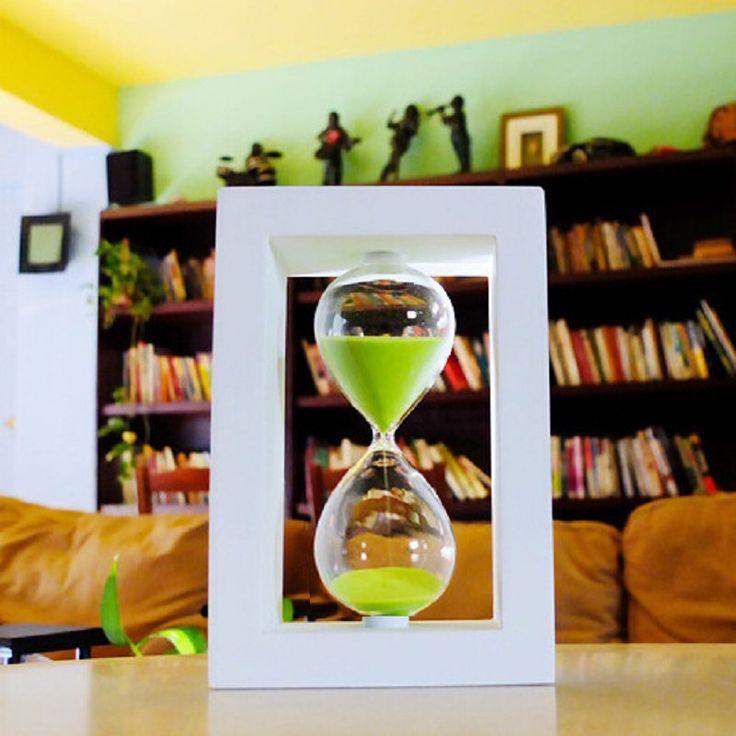 30 Минут песочные Песочные Часы Обратного Отсчета Времени 14.5*8*8 см Современные Деревянные Песочные Часы Песочные Часы Таймер Украшения Дома reloj de arena(China (Mainland))