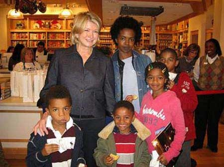 Lauryn Hill Meets Martha Stewart. Amazing.