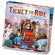 US, Europe, Nordic, Asia...travel the world with Ticket to Ride's many great global options!
