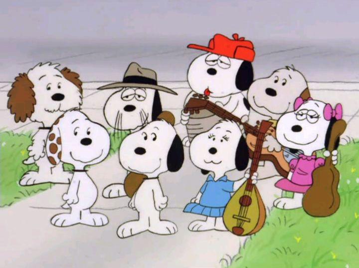 Snoopy S Siblings Peanuts Pinterest