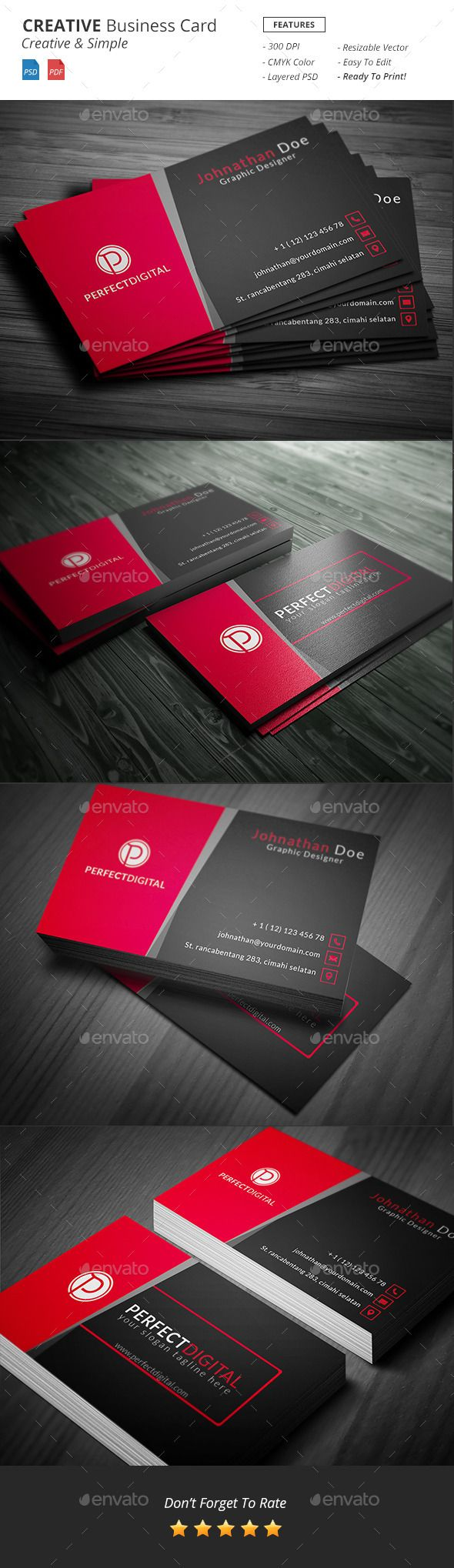 9 best yes photoshop psd images on pinterest font logo for Business card template photoshop cs6