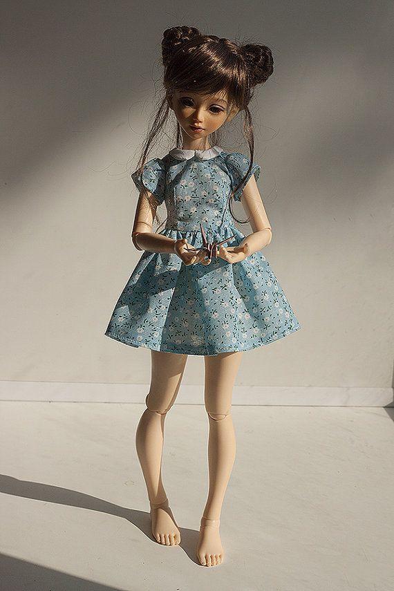 MSD BJD Clothes  Mini dress 2 Fairyland Minifee от Nulizeland #bjd #abjd #bjdclothes #bjdfashion #fairyland #minifee #fairylandmnf #unoa #unoalusis #msd #slimmsd #bjdsewing #dolls #nulizeland