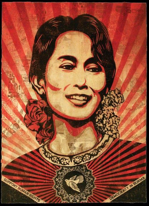 /// Aung San Suu Kyi - Obey