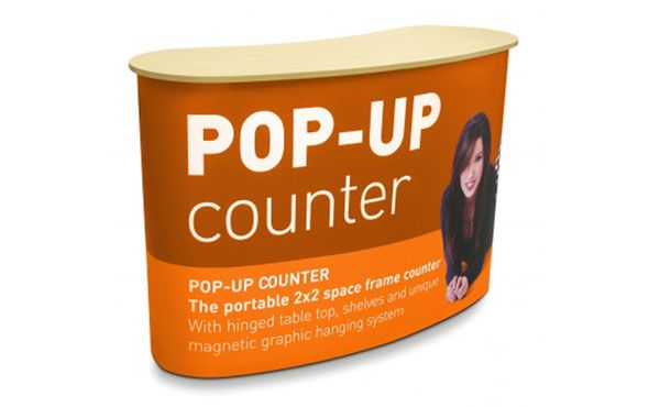 They are easy to transport and set up. They can be set up in few minutes and do not need tools or instruments or even experts to do the job.https://www.dxpdisplay.com/popup-counter-table-(large)