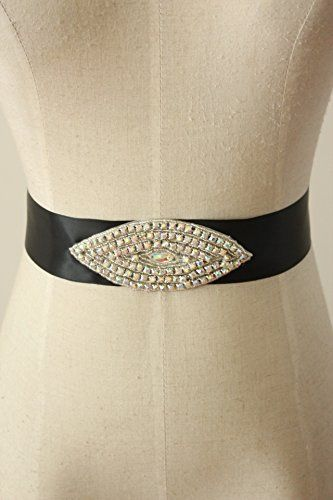 Lemandy Beautiful And Sexy Beading Belt/Sash For Wedding/Prom/Evening (Black) Lemandy http://www.amazon.co.uk/dp/B012VKZUBA/ref=cm_sw_r_pi_dp_O-69vb1KG5CAG