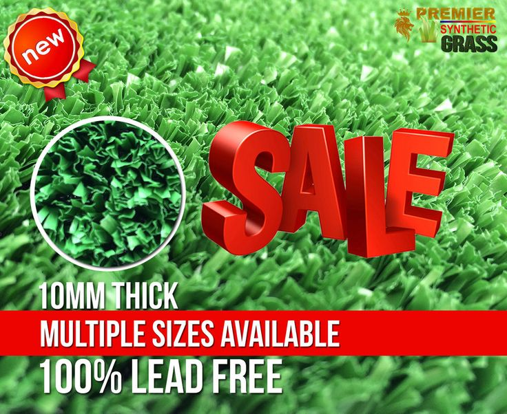 Quality Fake Grass 10mm Emerald Mesh Synthetic Garden Lawn $18.99 per sqm