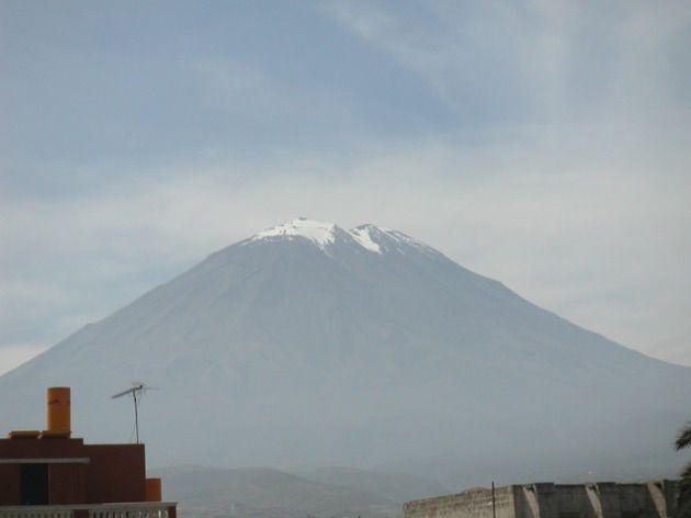 #volcan #Misti #Arequipa #Perou