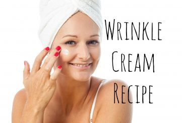 Easy homemade wrinkle cream recipe. www.yourbeautyblog.com