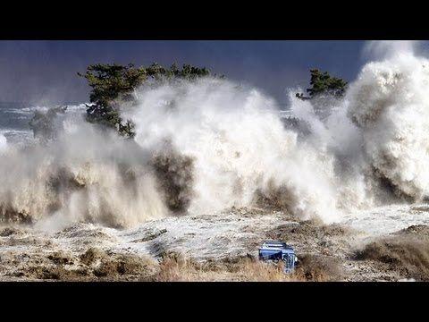 Tsunami in Japan - The Most Shocking Video El video más impactante del ...