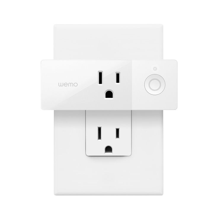 Wemo Mini Smart Plug WiFi Enabled Works with Alexa Google