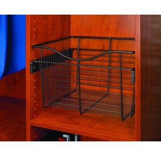 Buy The Rev A Shelf Oil Rubbed Bronze Direct. Shop For The Rev A Shelf Oil  Rubbed Bronze CB Series 2 Pack Of X X Wire Closet Pull Out Baskets And Save.