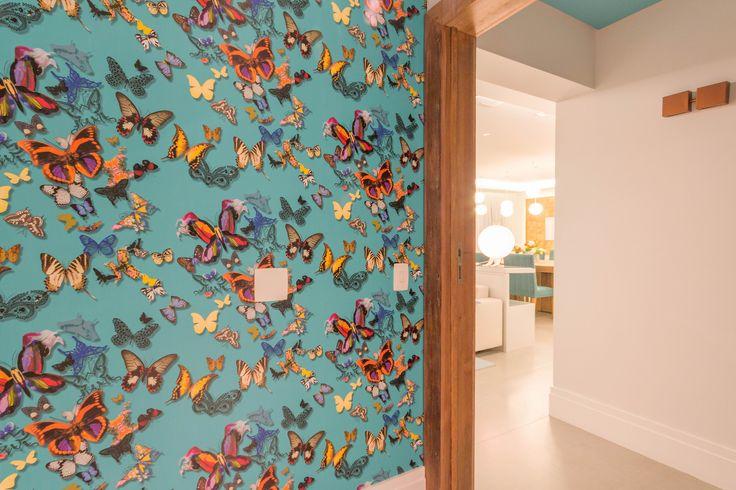 Apartamento Chef de Cozinha Hall Projeto - Enzo Sobocinski Arquitetura