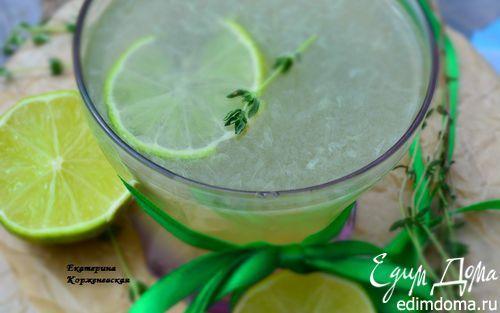 Лимонад с тимьяном и лаймом   Кулинарные рецепты от «Едим дома!»
