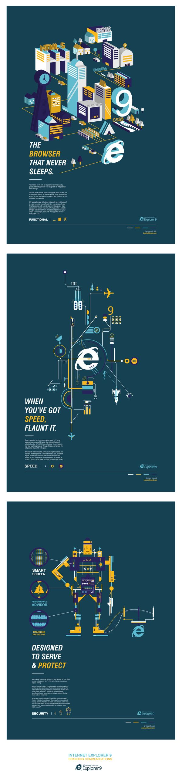D ad poster design - D Ad Awards Ie9 On Behance