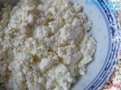 Cottage cheese fait maison : au lait de chèvre, de brebis & de vache (écrémé & demi-écrémé) - Chaudron Pastel de Mély