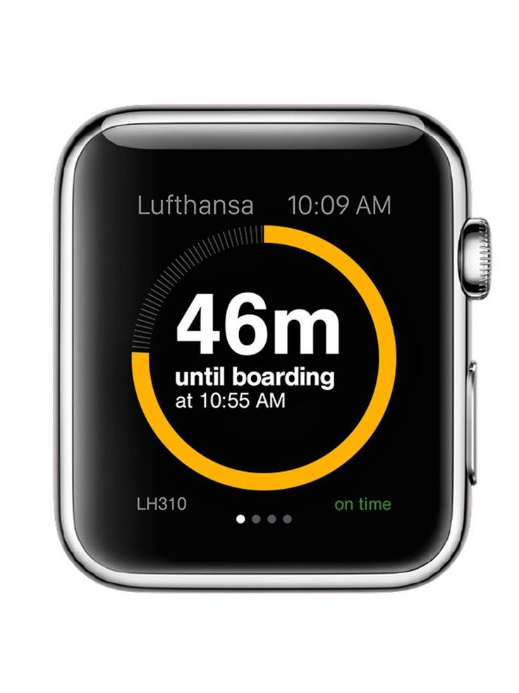example guidelines for apple watch app design