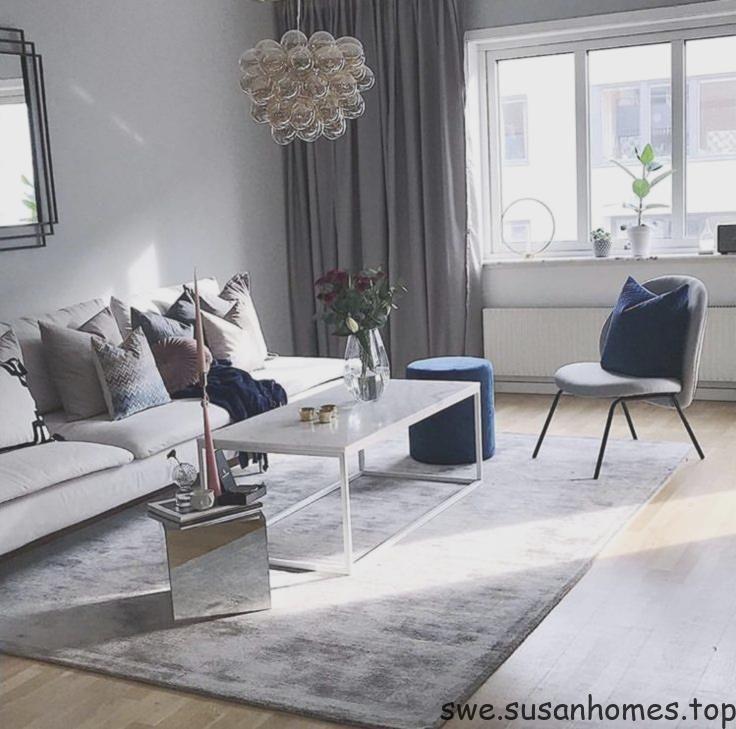 grå matta vardagsrum