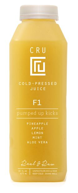 Yum!! Cru Raw Cold Pressed Juices #yyc