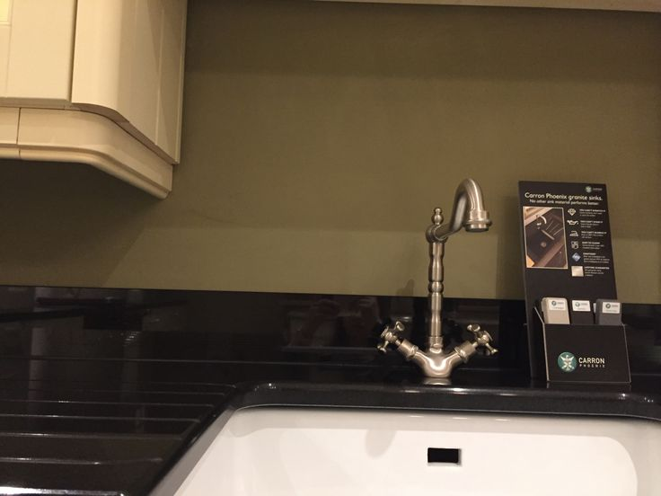 Belfast Sink and San Marco Brushed Florence Tap at Newhaven Kitchens, Carlow