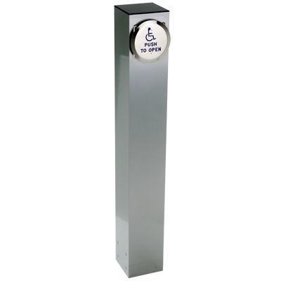 42 Quot X 6 Quot Square Bollard With Push Plate Actuator