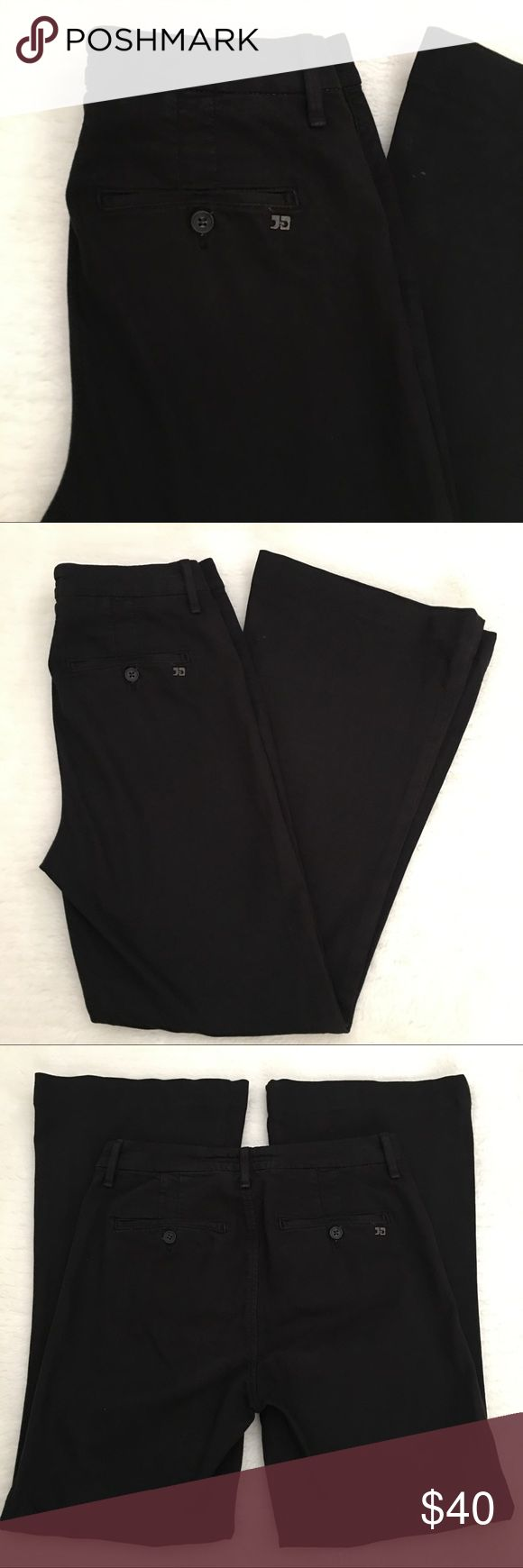"Joe's Jeans Black Khaki Pants size 27x29"" Preowned authentic Joe's Jeans Black Khaki Pants size 27x29"". Rise is 10"" inches. Signs of normal wear. Please look at pictures for better reference. Thank you for looking and happy shopping! Joe's Jeans Pants Boot Cut & Flare"