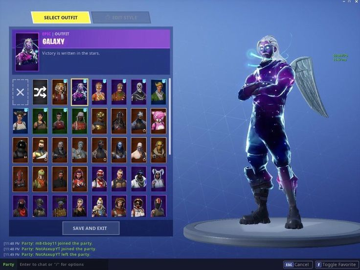 Fortnite Account Pc/Xbox Or PS4 (Skull Trooper And Galaxy ...