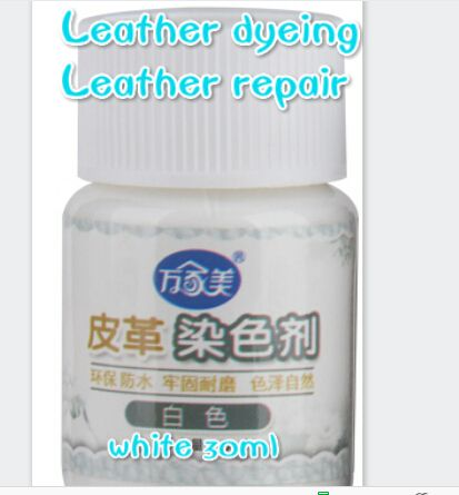 leather repair white 30ml free shipping