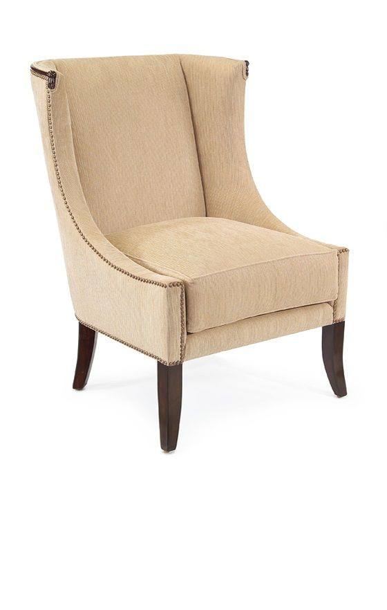 Beautiful Bathroom Chair Rail Specifics Please: Contemporary Designer Cream Upholstered Lounge Chair, For