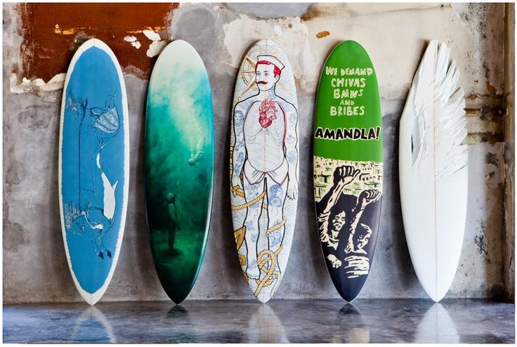 Surfboard - Surfboard art - beautiful surfboards @ Wavescape surf festival Cape Town