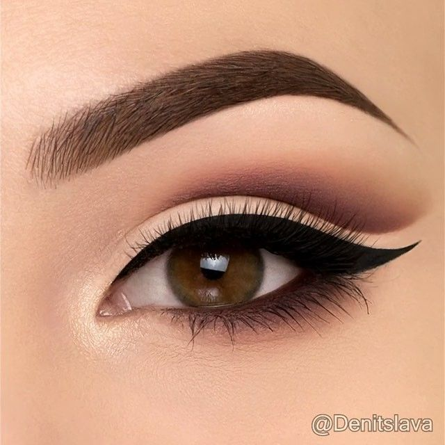 Love this step-by-step creation by @denitslava 👏🏻 so clean, so precise! #powerofmakeup