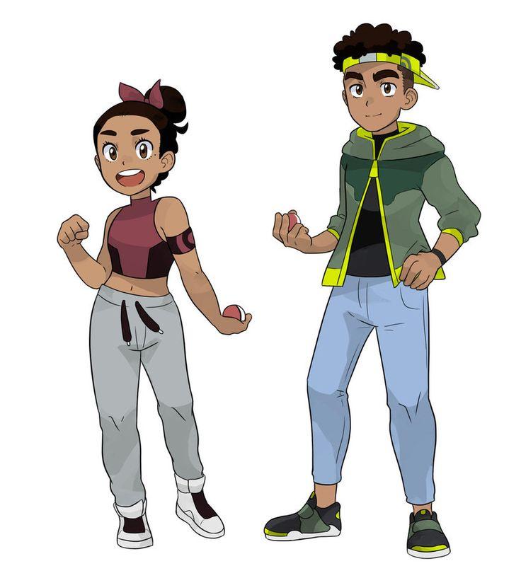 Pokemon Trainers by kilala97 on DeviantArt