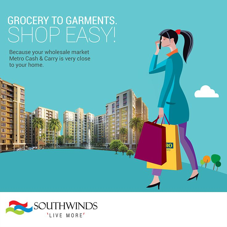 ‪ ‪#‎Southwinds‬ is a home closer to your favorite places! ‪#‎ConnectingYouToLife‬ ‪#‎LiveMore‬ #Kolkata Visit: http://www.southwinds.in/location-map.html