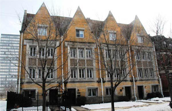 Фрэнк Ллойд Райт (Frank Lloyd Wright): Robert W. Roloson Houses, Chicago, Illinois (Дом Роберта Роулсона, Чикаго, Иллинойс), 1894