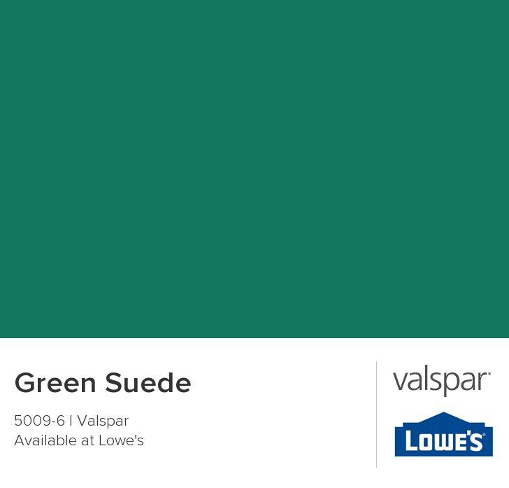 Green Suede from Valspar