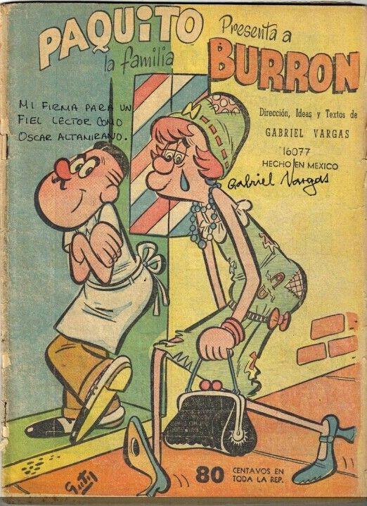 Historieta de la Fam. Burron. (Retro).Google.