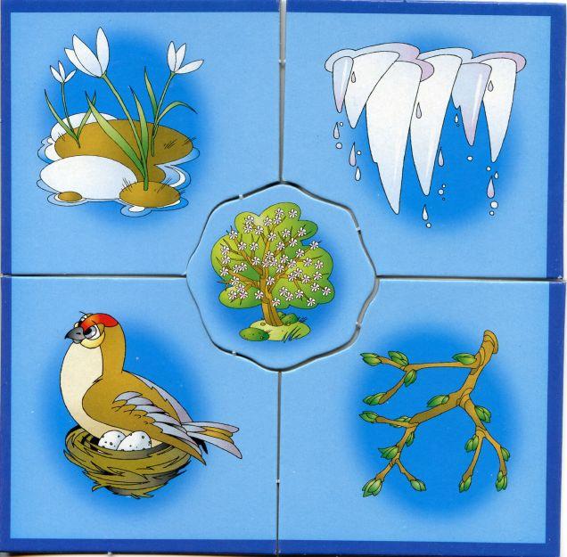 времена года.карточки для детей. Обсуждение на LiveInternet ... 2 www.liveinternet.ru