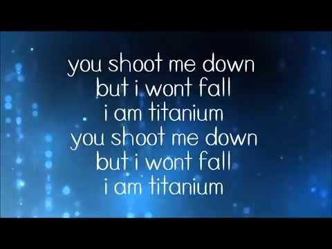 """""""I'm criticized but all your bullets ricochet. You shoot me down, but I get up. I'm bulletproof, nothing to lose.. Fire away, fire away."""" ~ David Guetta ft  Sia   Titanium Lyrics"""