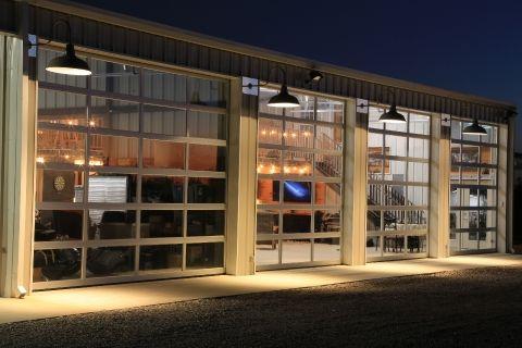 Walls Light Gray Roof White Livingspace Storage Metal Building Homes Buildings