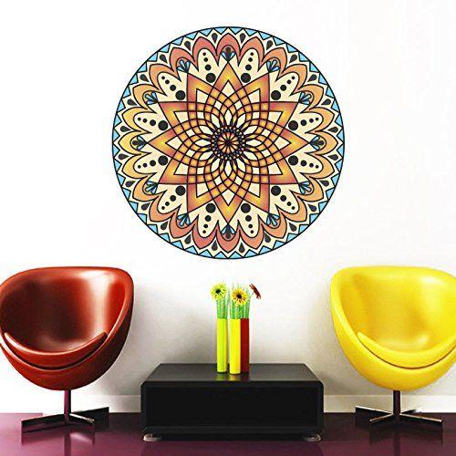 Best Mandala Full Color Multicolored Vinyl Stickers Images On - Full color vinyl stickers