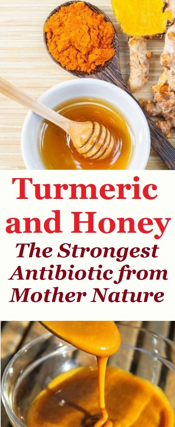 Turmeric and Honey – The Strongest Antibiotic from Mother Nature