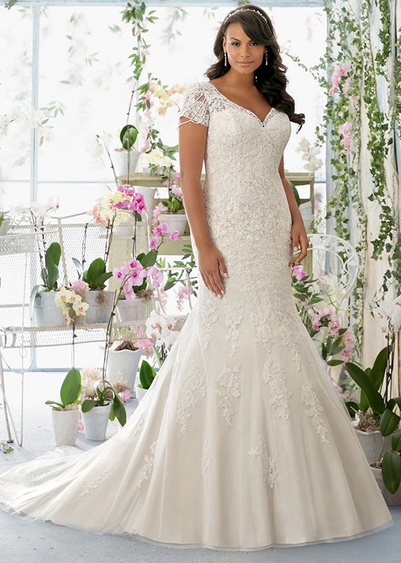 Dress style 3197 // From the Julietta plus size collection by Mori Lee.