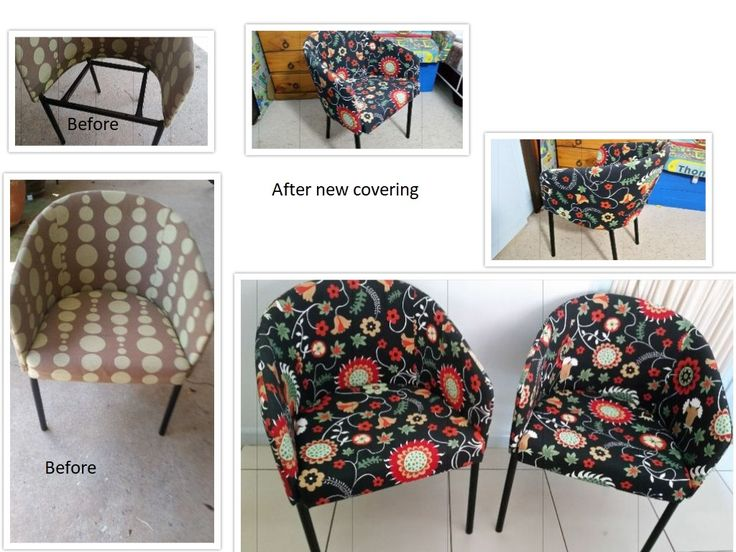 Old bucket chairs to new bucket chairs.