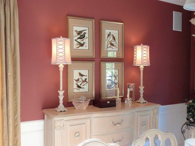 Favorite Paint Colors Dining Room Tawny Port Benjamin