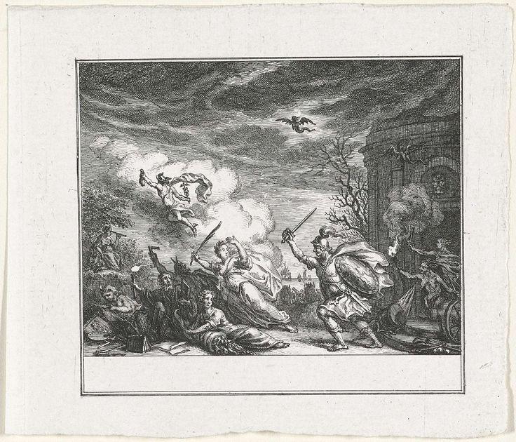 Vrede door Oorlog verjaagd, Simon Fokke, 1774 - 1784